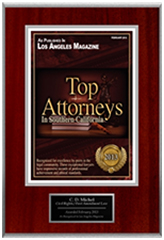 C.D. Michel - Top Attorney Award - LA Magazine 2013 - Civil Rights & First Ammendment