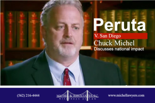Chuck Michel, Senior Partner, Michel and Associates, and attorney for Ed Peruta in the Second Amendment case, Peruta v. San Diego: Discusses growing impact of this important gun rights case.